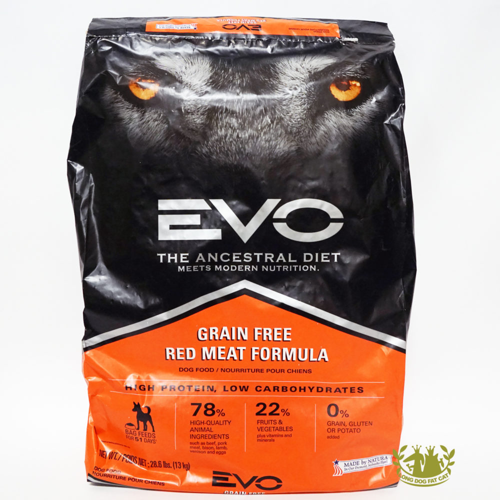 Evo dog food for Evo red meat dog food