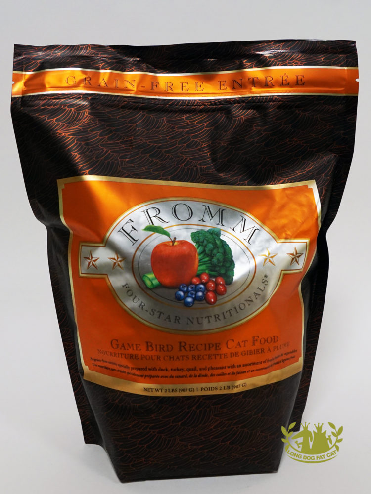 Fromm Game Bird Cat Food Review