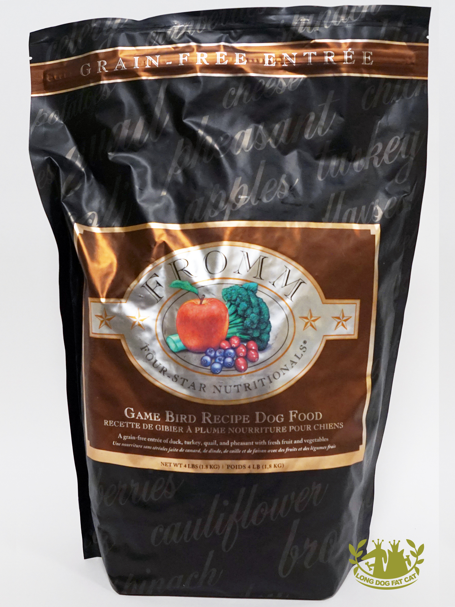 Fromm Four Star Grain Free Game Bird Dog Food