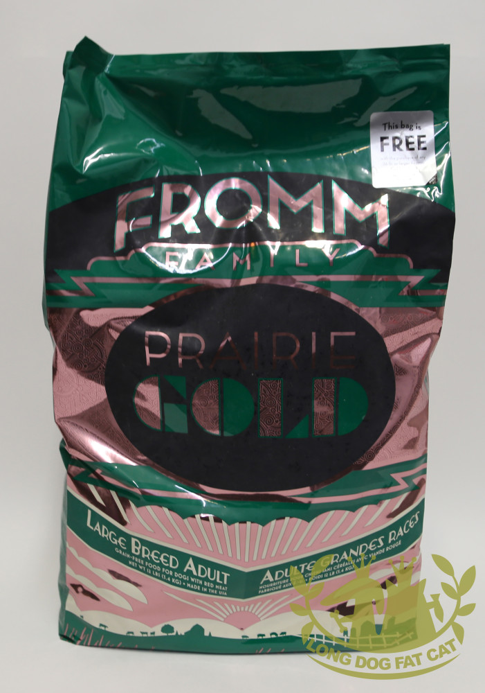 Fromm Prairie Gold Large Breed Adult Dry Dog Foodlong Dog