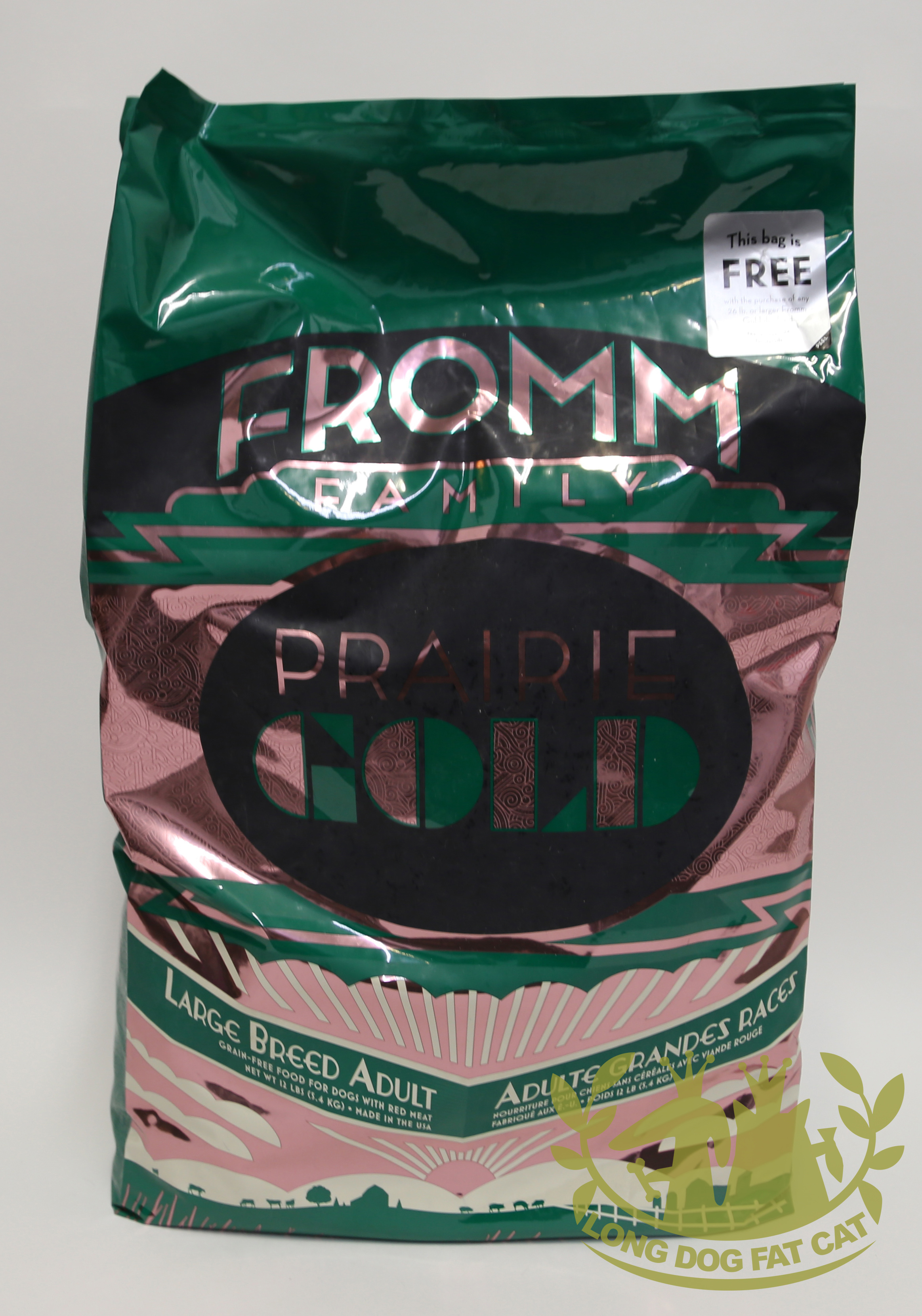 Fromm Prairie Gold Large Breed Adult Dry Dog Food