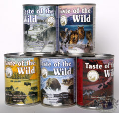 13oz Taste of the Wild Dog Cans