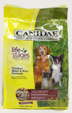 Canidae Chicken Meal and Rice Canine Formula