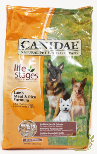 Canidae Lamb Meal and Rice Canine Formula