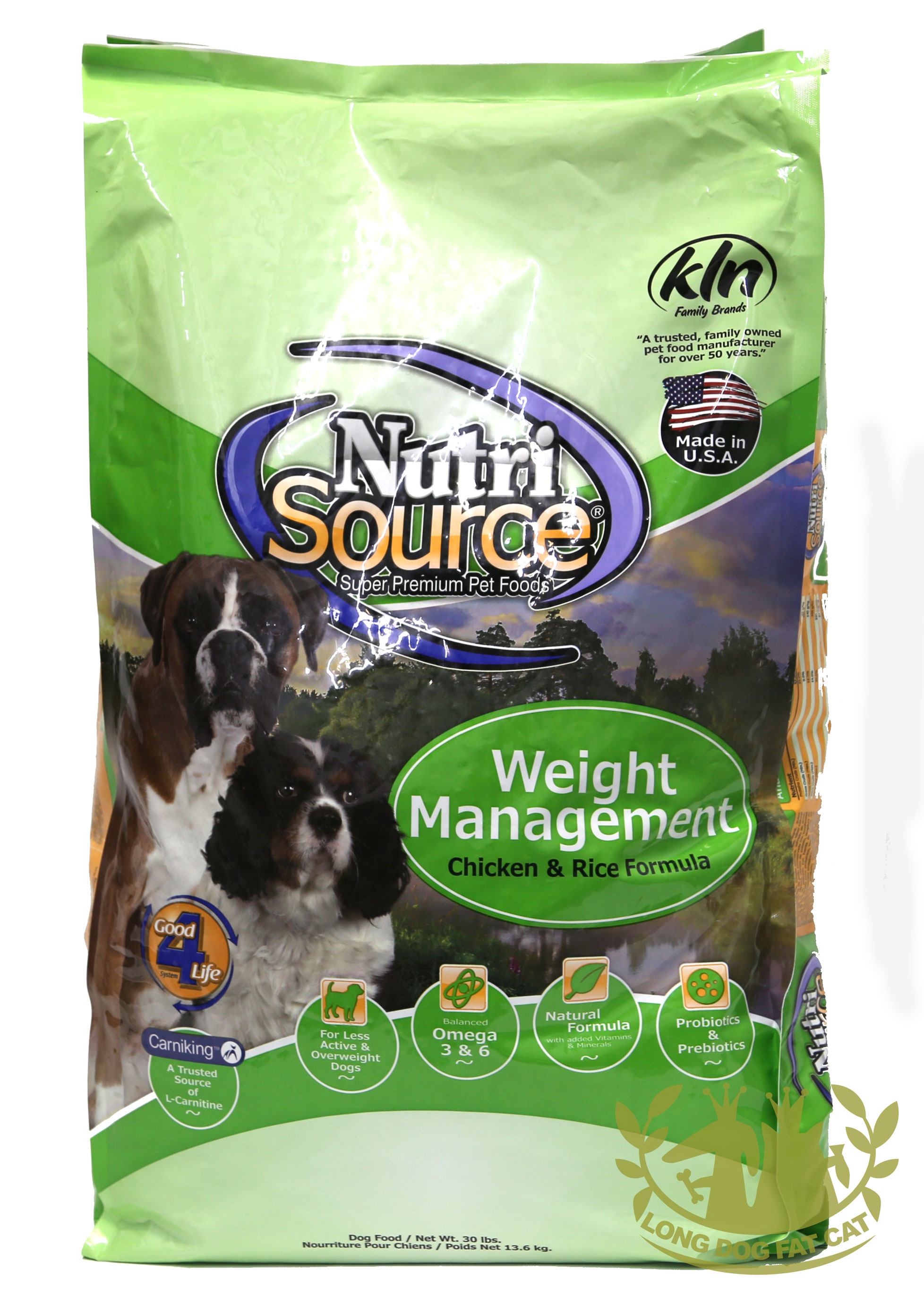 nutrisource weight management dog food