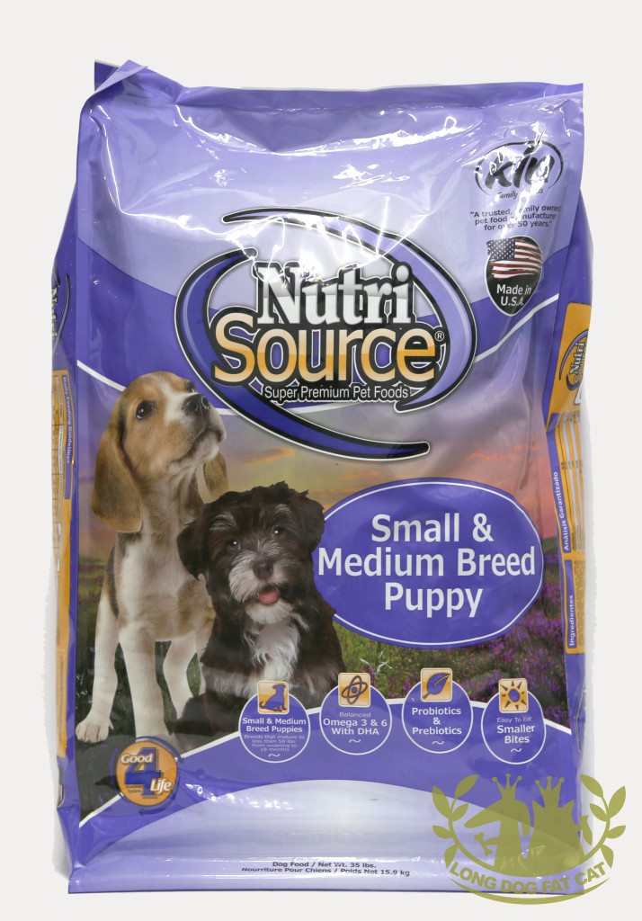 Nutrisource Small Medium Breed Puppy Dry Dog Food