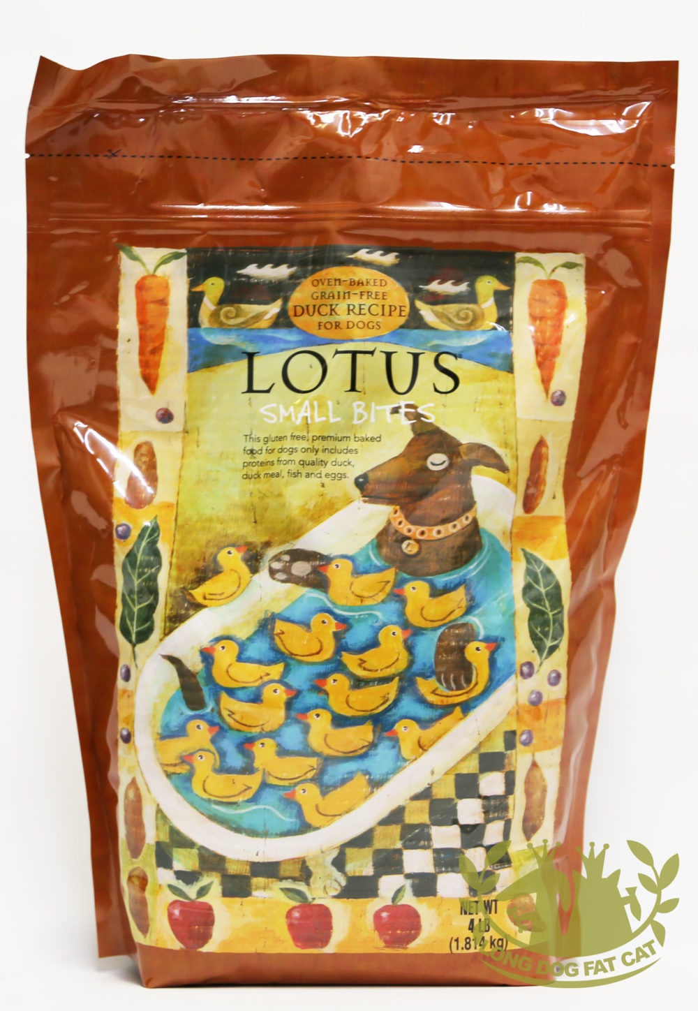 Lotus Wholesome Small Bite Grain-Free Duck Recipe