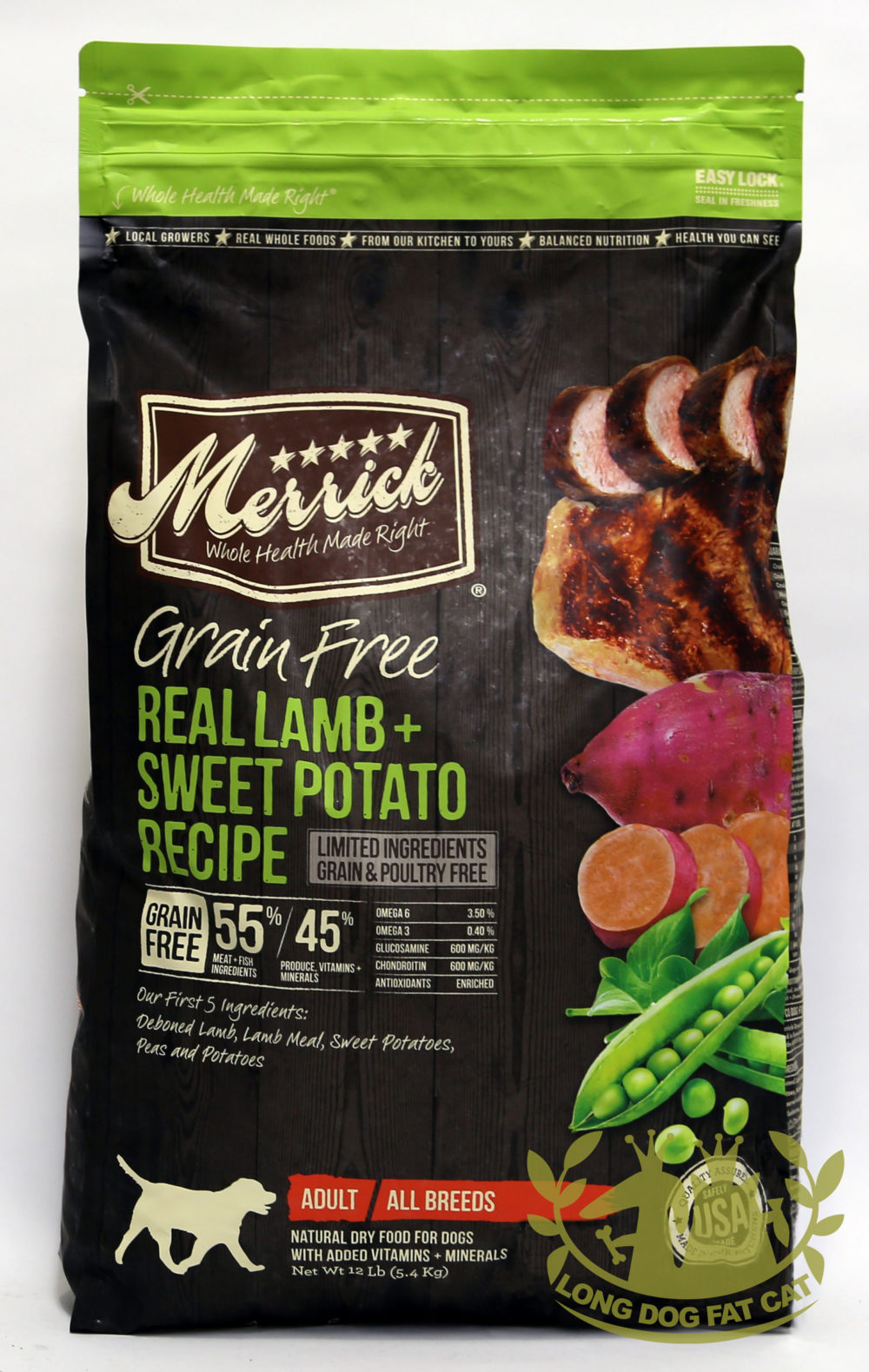 Merrick Grain Free Lamb and Sweet Potato Dog Food