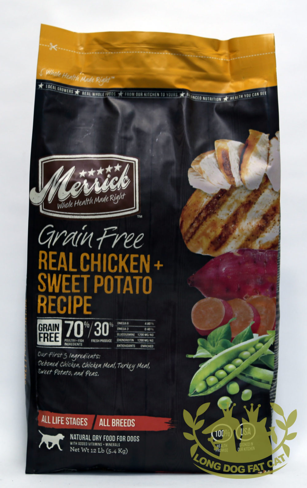 Merrick Grain Free Chicken and Sweet Potato Dog Food