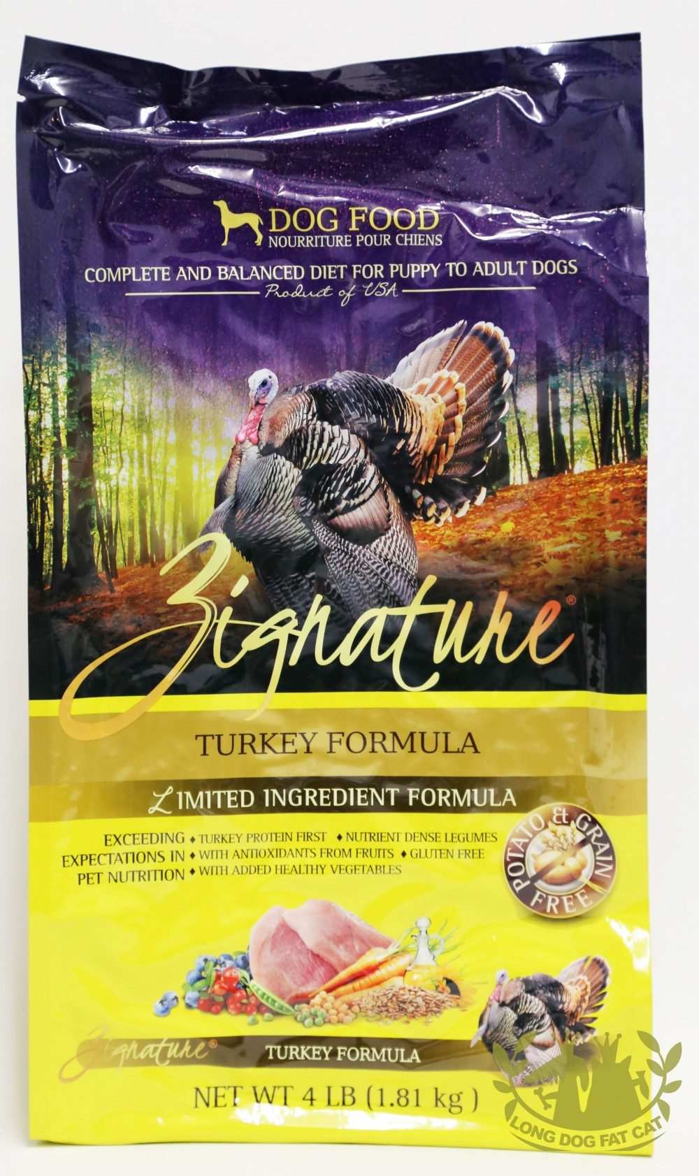 Zignature Turkey Canine Formula