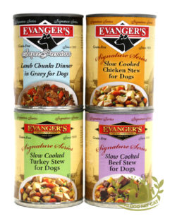 12oz Evanger's Signature Series Canned Dog Food