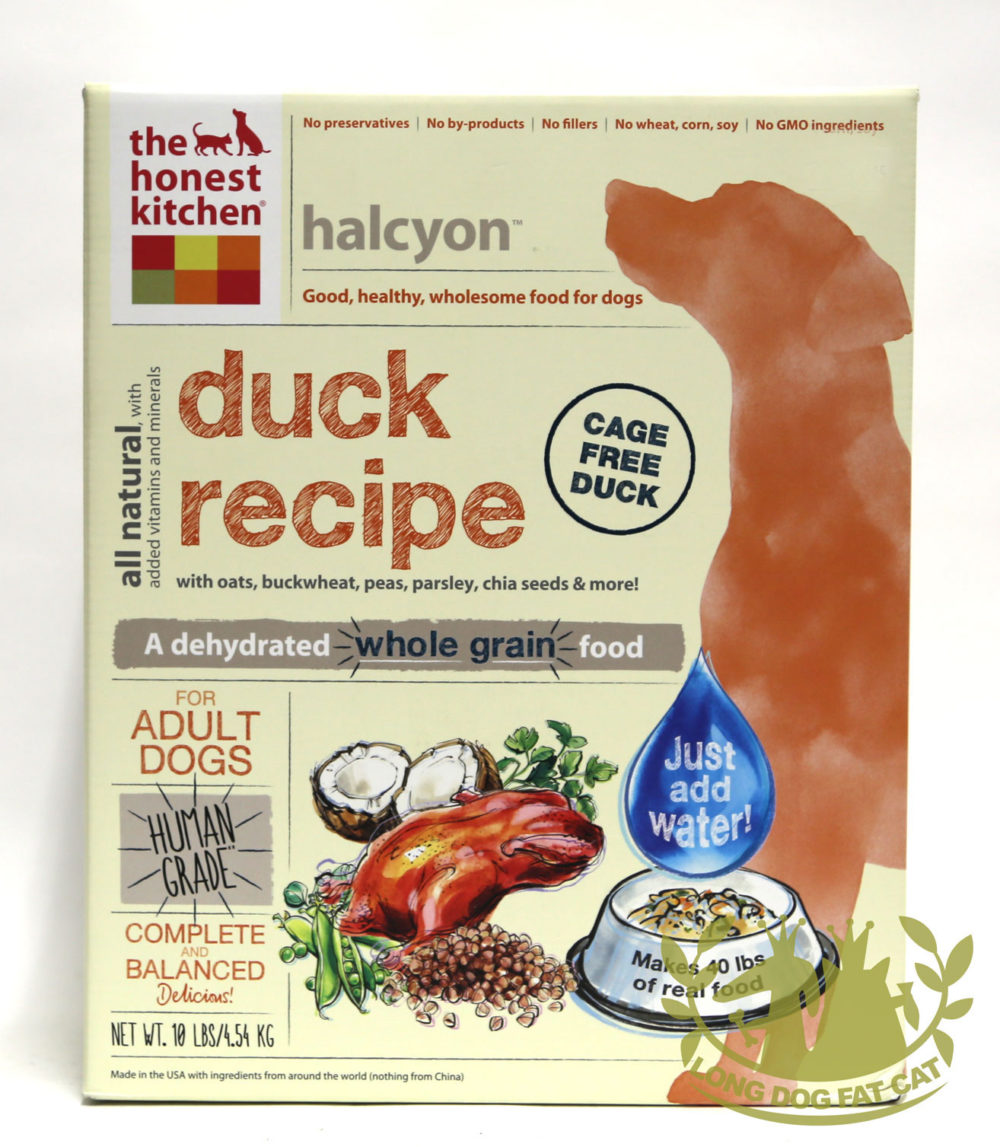 Honest Kitchen Freeze Dried Halcyon Dog Food (Duck)