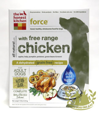 Honest Kitchen Freeze Dried Force Dog Food (Chicken)