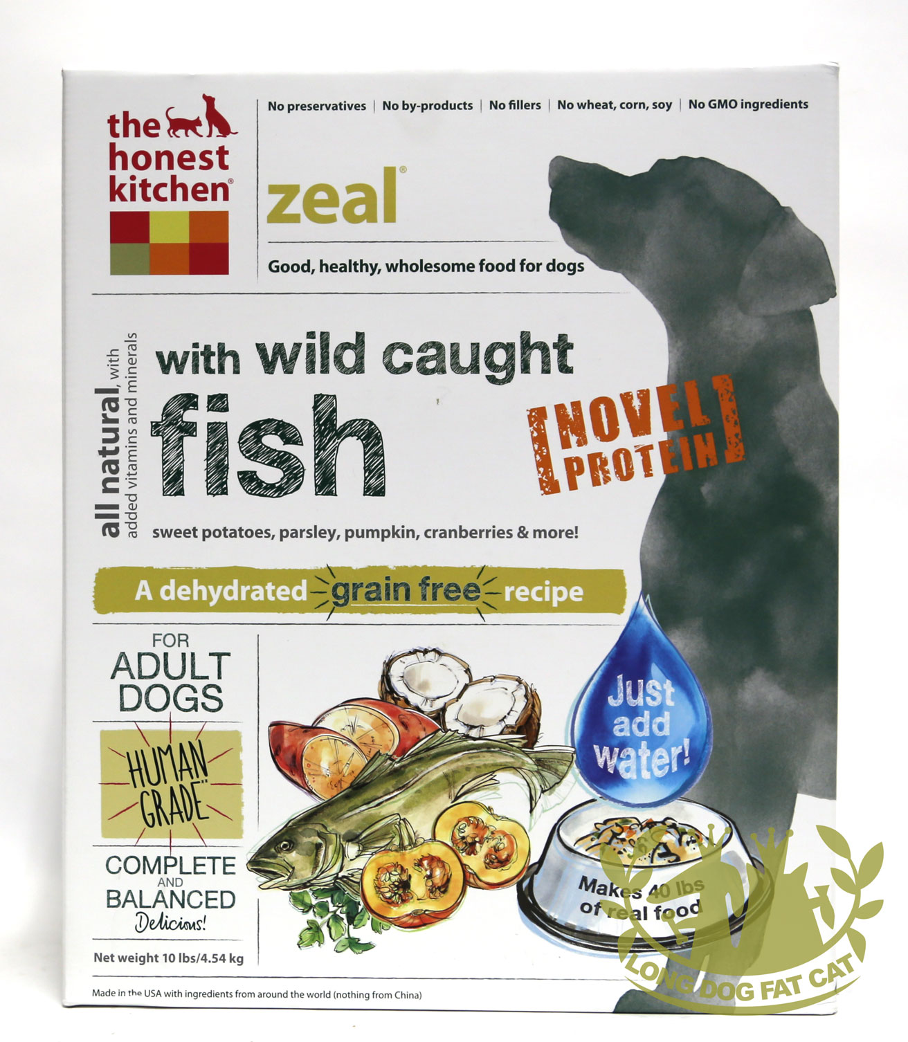 Kitchen Freeze Dried Zeal Dog Food White Fish - Honest kitchen dog food