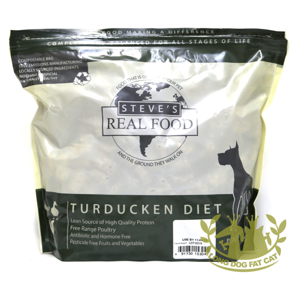 Steve's Real Food Canine Frozen Turducken Formula