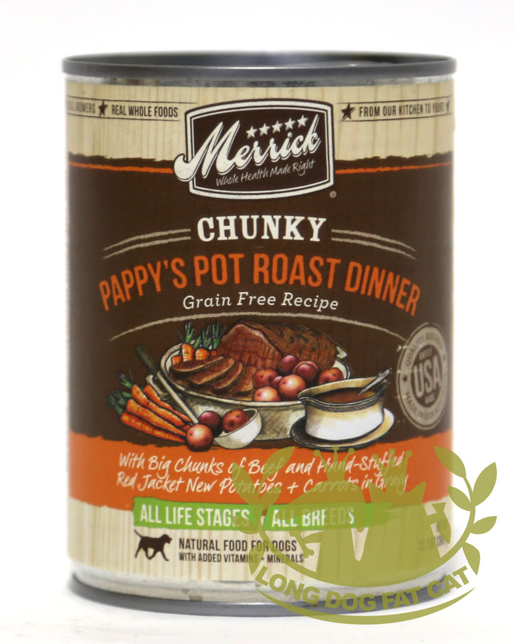 Merrick Chunky Paapy's Pot Roast Dinner
