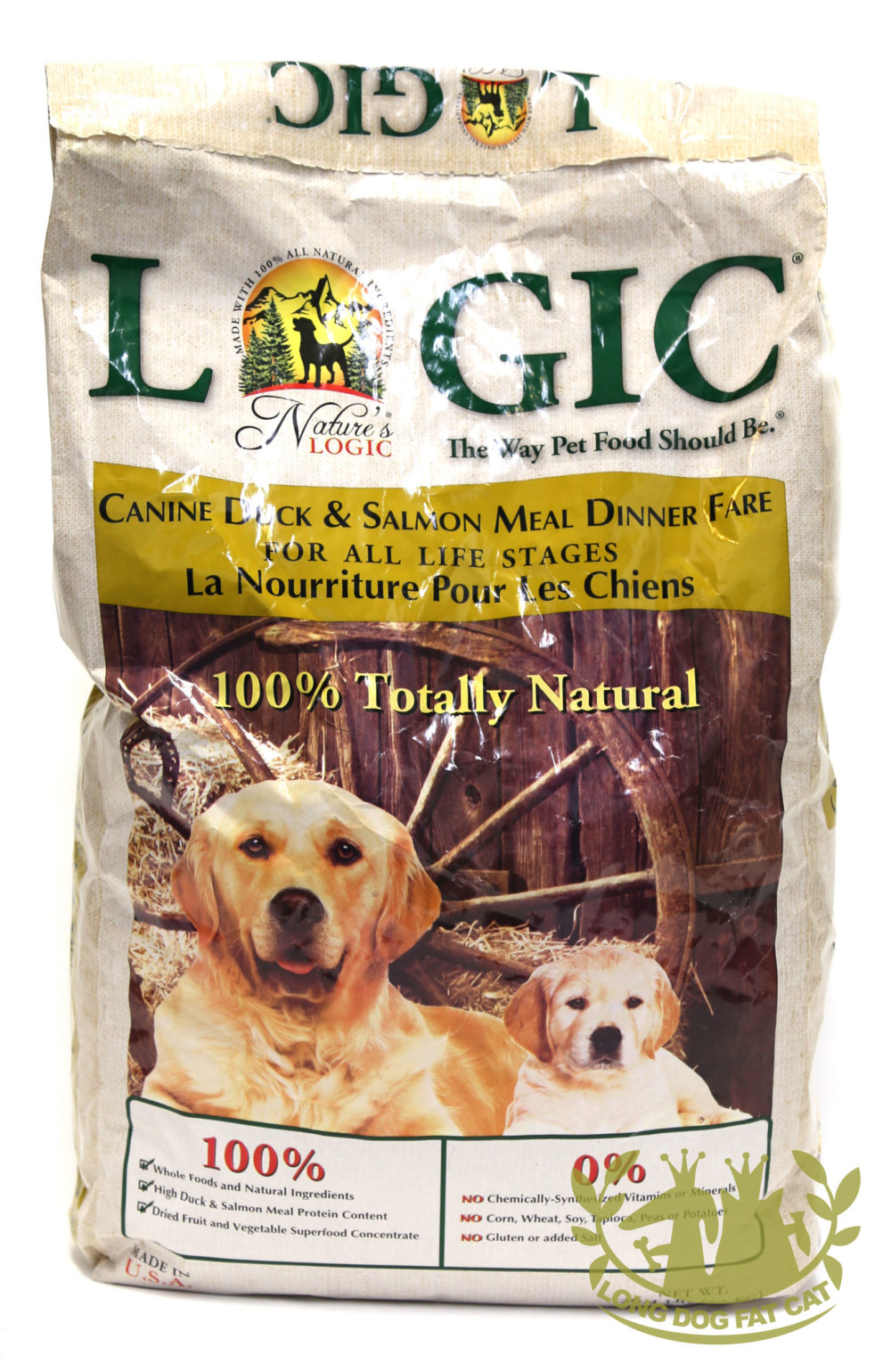 Nature's Logic Canine Dry Kibble Duck and Salmon