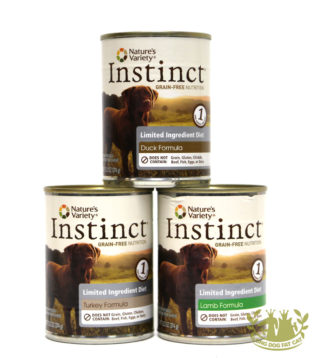 13.2oz Nature's Variety LID Canned Dog Food