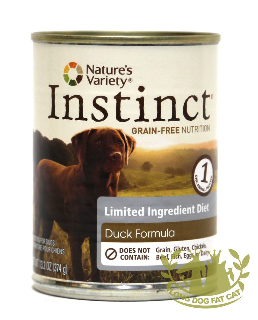 13.2oz Nature's Variety LID Duck Formula