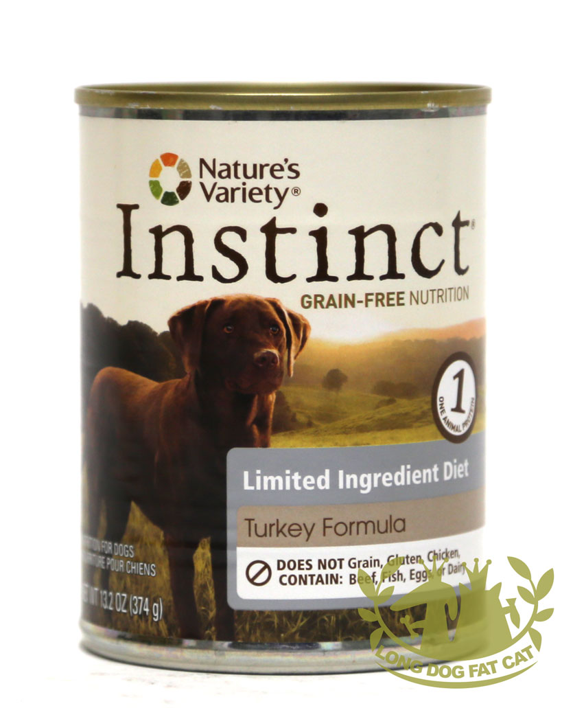 13.2oz Nature's Variety LID Turkey Formula