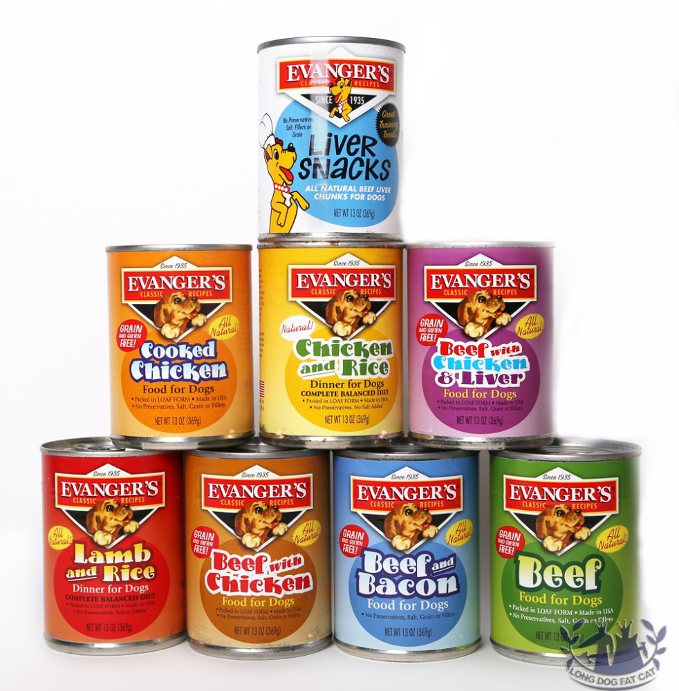 Canned Dog Food Long Dog Fat Cat