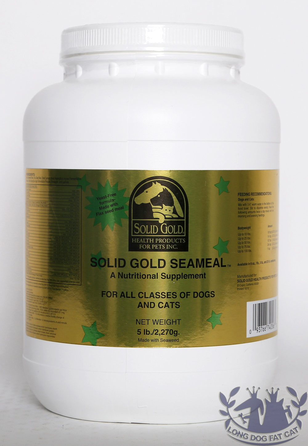 Solid Gold Seameal For Dogs Uk