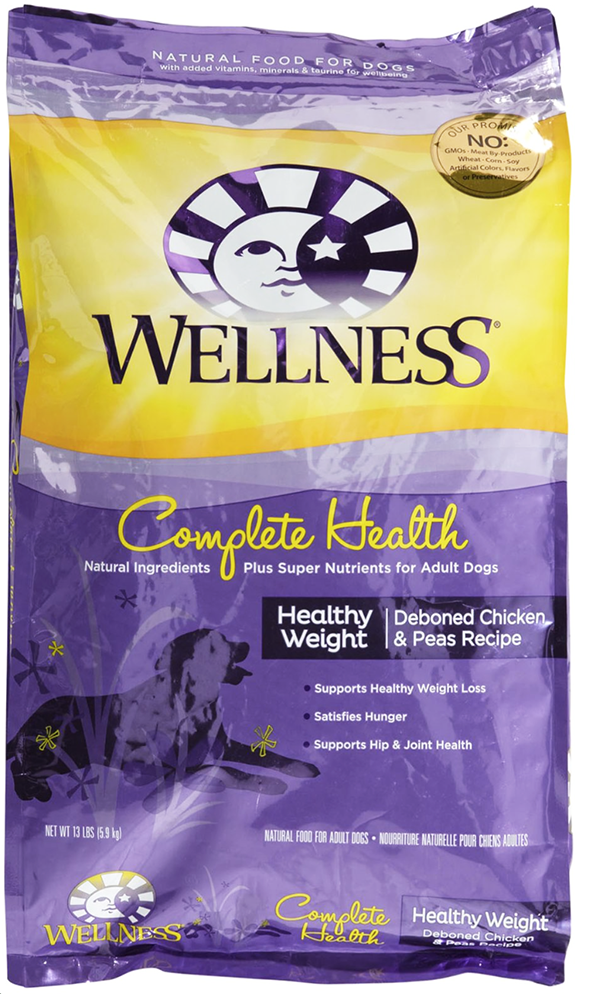 Wellness Complete Health Healthy Weight Deboned Chicken Dog Food